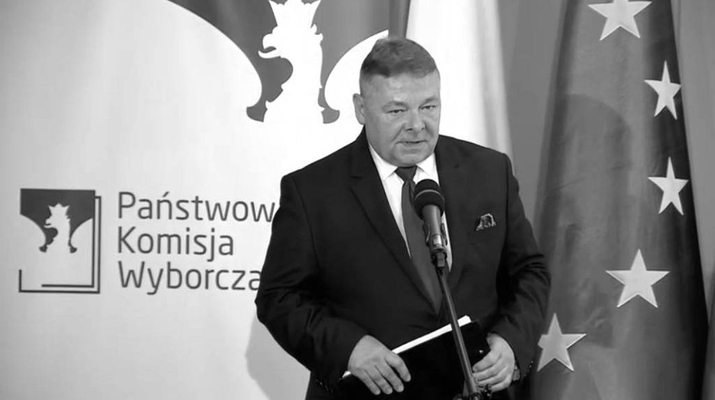 Rzecznik PKW Tomasz Grzelewski.