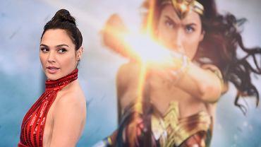 Gal Gadot na premierze Wonder Woman