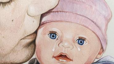 Makabryczna historia wyszła na jaw w lutym 1996 roku. Adam S. doniósł policjantom, że żona zabiła noworodka.