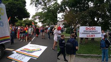 Przygotowania do Marszu Równości w Płocku i do towarzyszących mu kontrmanifestacji