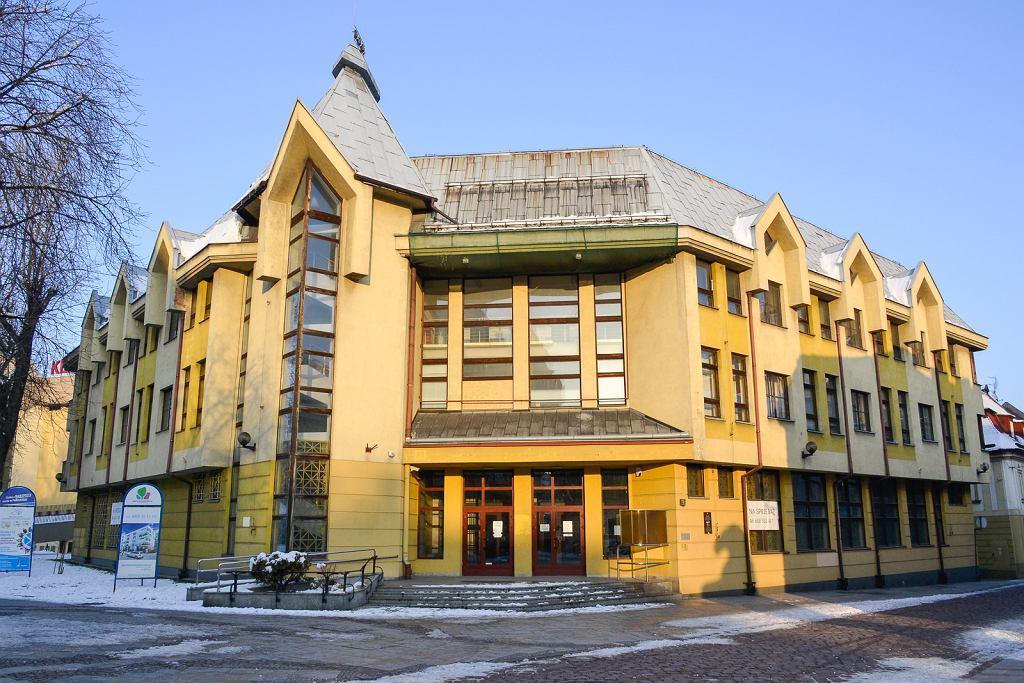 Bielsko-Biała, budynek po PKO BP przy ul. 11 Listopada.