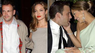 Angelina Jolie i Jonny Lee Miller, Jennifer Lopez i Ben Affleck