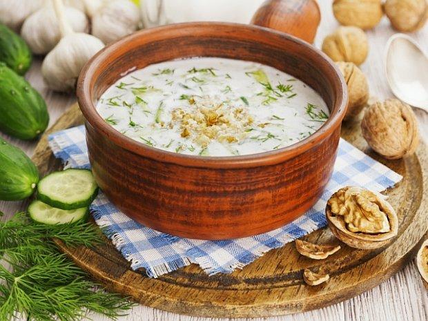 kuchnia bułgarska, chłodnik ogórkowy