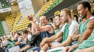 Stelmet BC Zielona Gora vs kibice , zakończenie sezonu