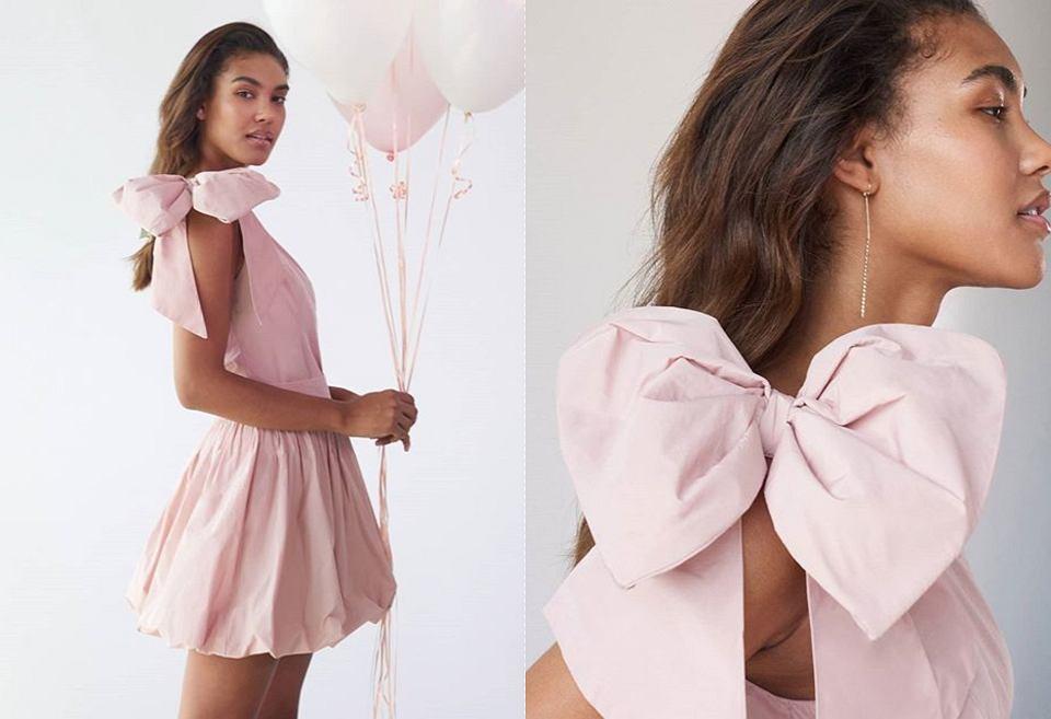 stylizacja z sukienką