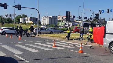 Tragiczny wypadek na Rondzie Inowrocławskim w Bydgoszczy
