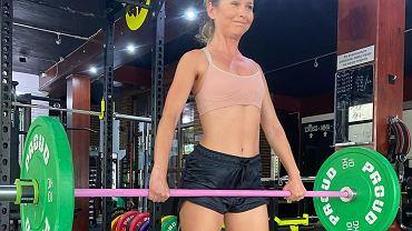 Paulina Sykut-Jeżyna - trening ze sztangą