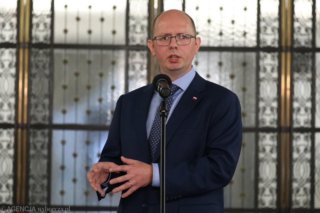 Błażej Kmieciak, przewodniczący komisji ds. pedofilii