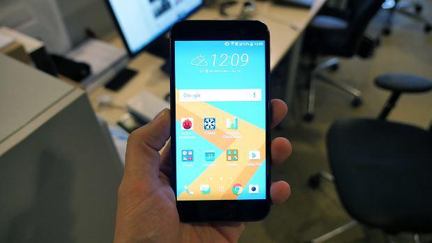 HTC 10 i nakładka HTC Sense