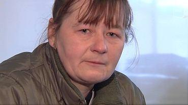 Natalia Kozanchyn, siostra Oksany, która dostała wylewu