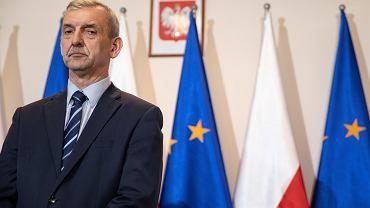 Prezes Związku Nauczycieli Polskich Sławomir Broniarz