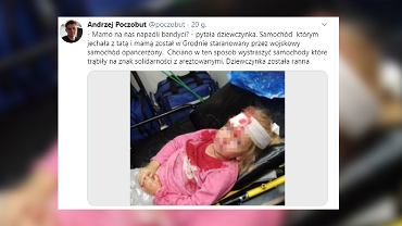 Białoruś. Ranna 5-latka