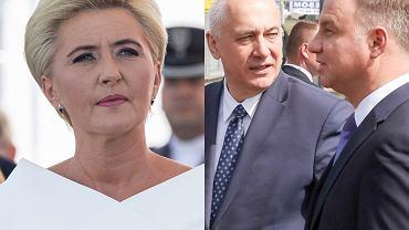 Agata Duda, Joachim Brudziński, Andrzej Duda