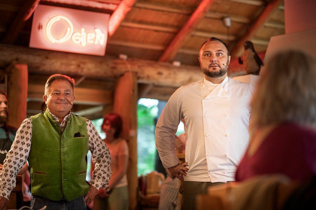 'Ogień w kuchni: Baron i Makłowicz'