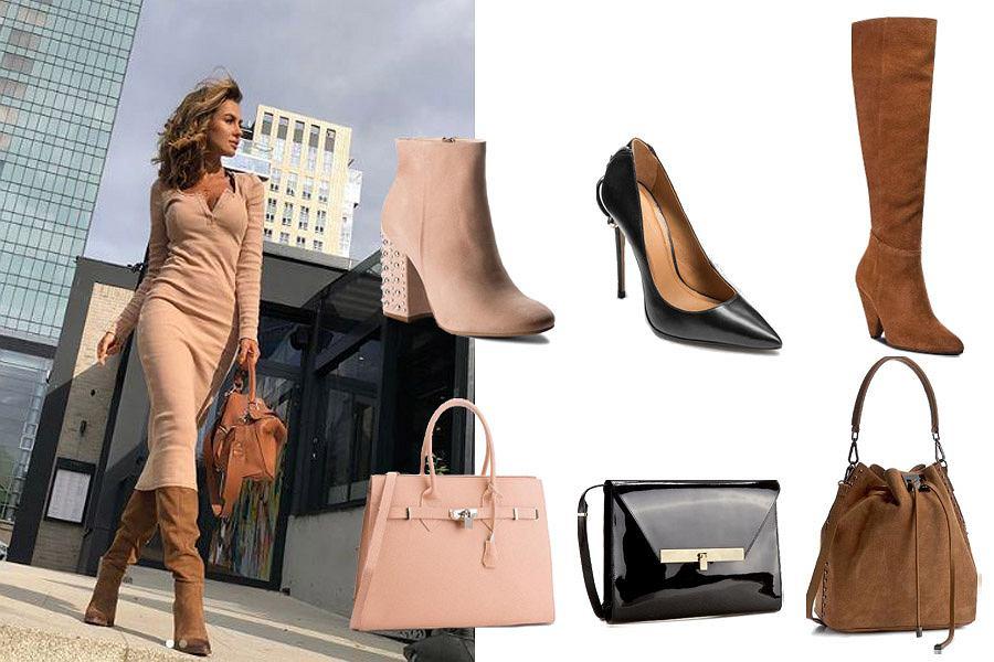 klasyczne połączenie torebki i butów / mat. partnera