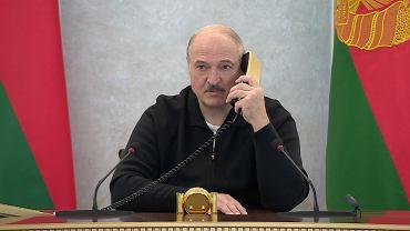 Aleksander Łukaszenka, 23 sierpnia 2020 r.