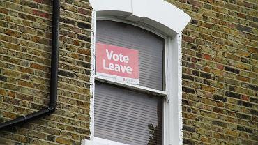 Hasło 'Vote Leave'