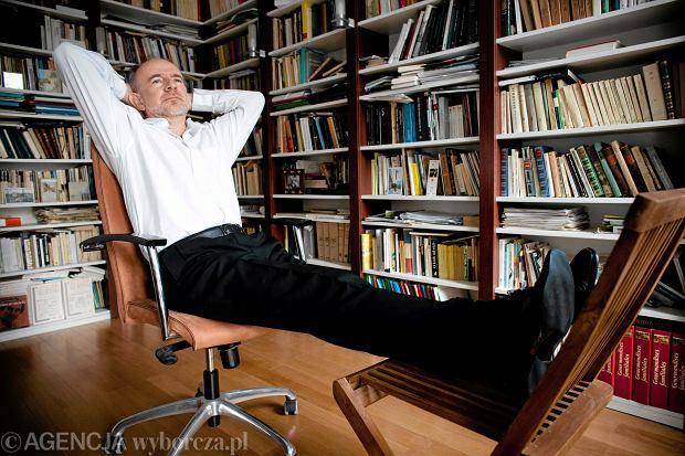 Marek Bieńczyk, pisarz, eseista, Warszawa, 2011 r.