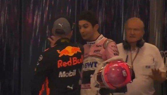 Max Verstappen i Esteban Ocon