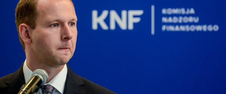 Dworczyk: Szef KNF oficjalnie złożył dymisję. Formalnie to koniec sprawy