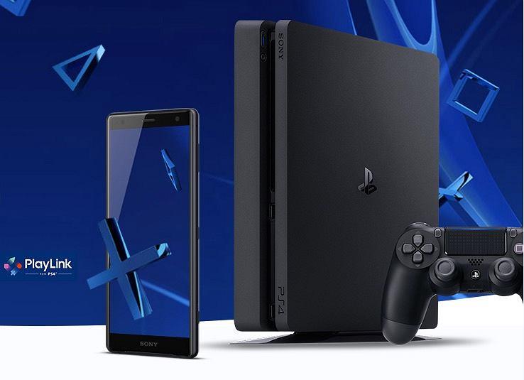Sony Xperia XZ2 w komplecie z konsolą PS4 Slim