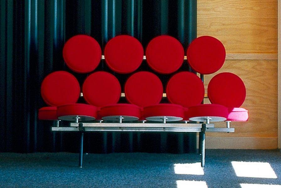 Sofa Candy, inspirowana słynnym projektem Marshmallow Georga Nelsona