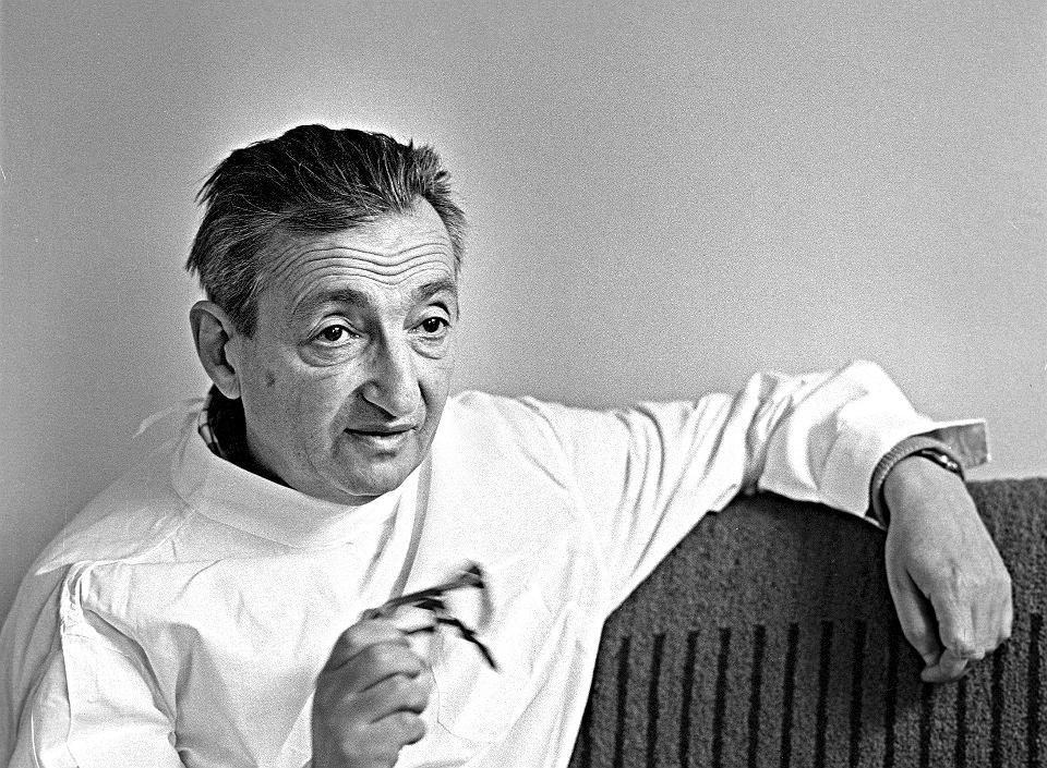 Marek Edelman, Łódź, 1980. Właśnie mija jego 10. rocznica śmierci