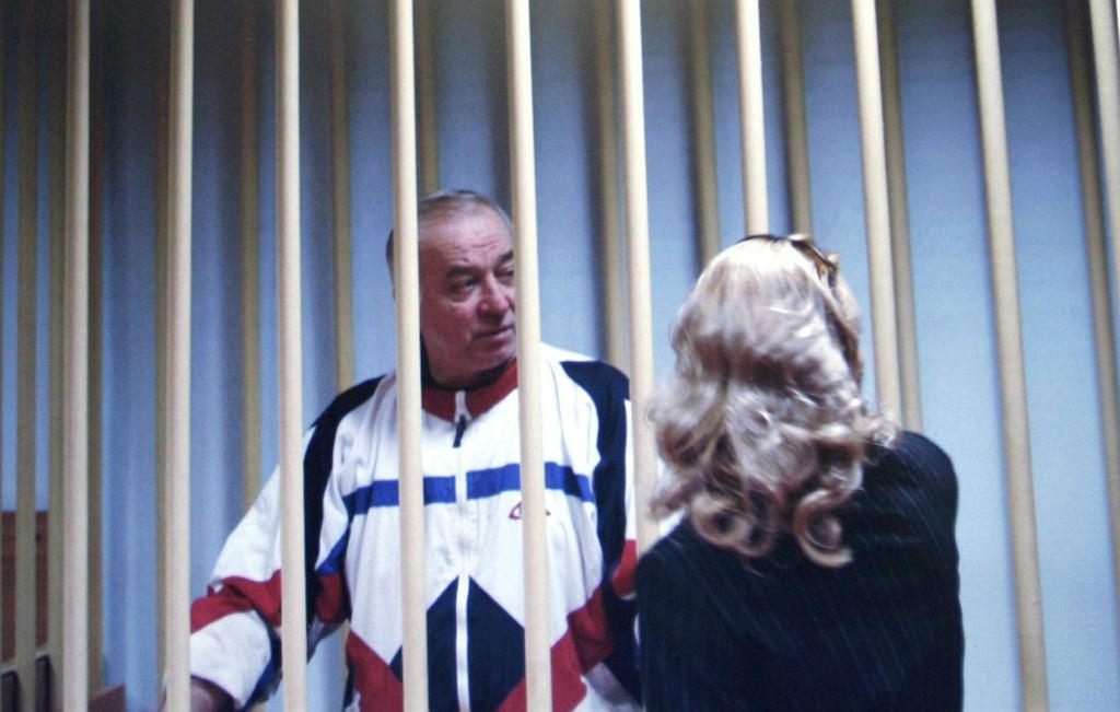 Siergiej Skripal w moskiewskim sądzie. Zdjęcie z 9 sierpnia 2006 r.