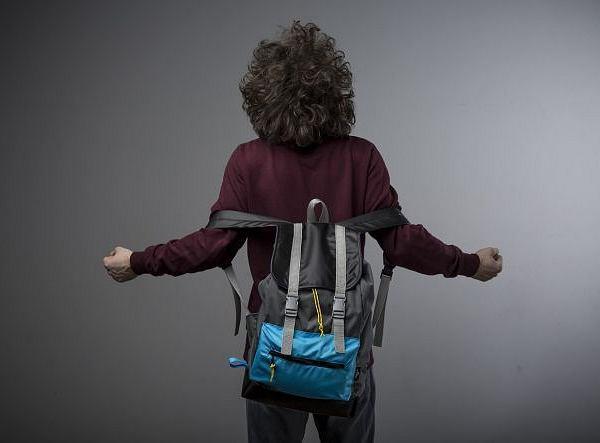 Plecak z kolekcji Pak In. Cena: 329 zł