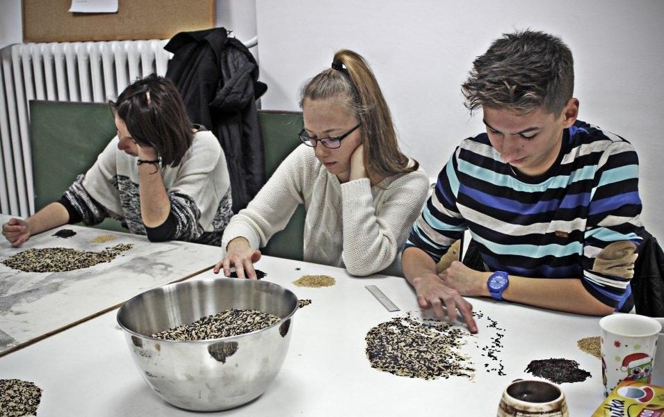 Dominika Bogdan sfotografowała uczestników w trakcie eksperymentu