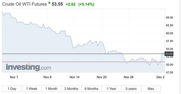 Ropa Crude - cena