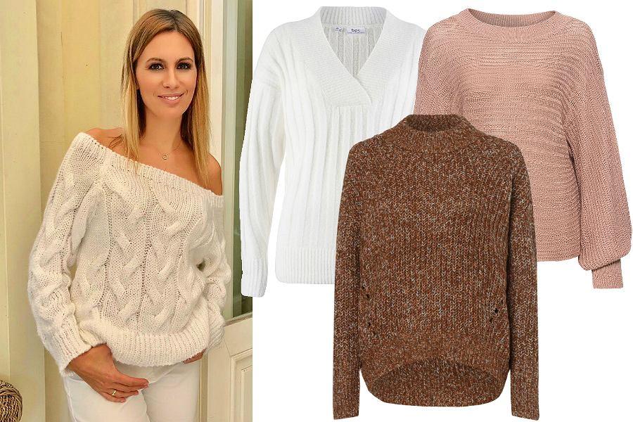 Klasyczne swetry oversize na zimę