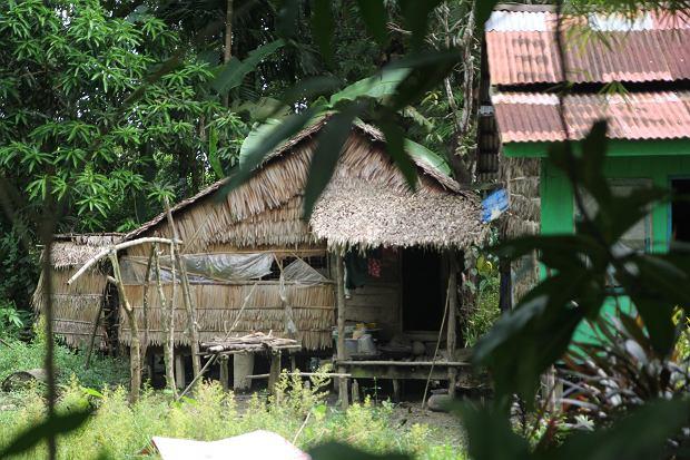 Wiejski dom w Delcie Irawadi