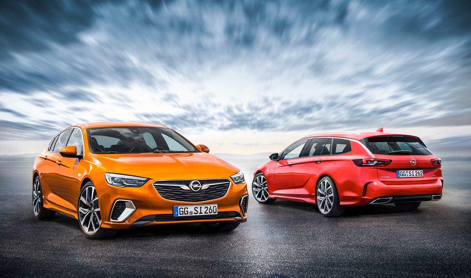 Nowy Opel Insignia GSI