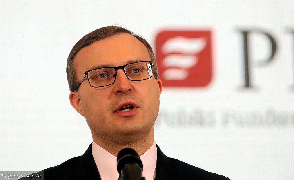 Prezes PFR Paweł Borys, współtwórca PPK
