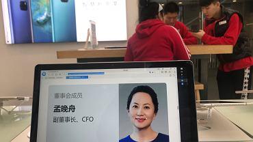 Dyrektor Huawei Meng Wanzhou (na zdjęciu) została zwolniona za kaucją. 1 grudnia 2018 r., na żądanie USA, została zatrzymana w Kanadzie.