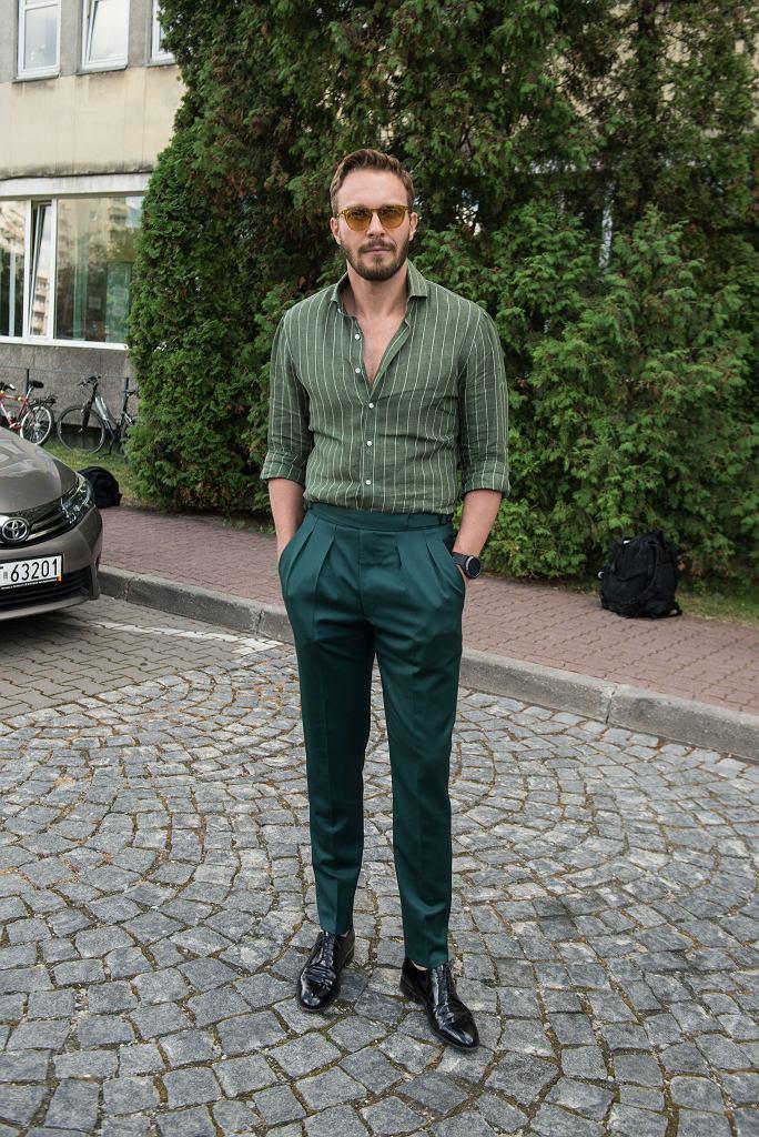 W zielonej tonacji, Sławek Uniatowski