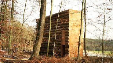 Kaplica na trasie rowerowej w Lesie Bawarskim