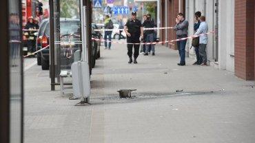 Ładunek wybuchowy eksplodował przy ul. Kościuszki we Wrocławiu