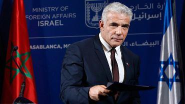 Yair Lapid, szef MSZ Izraela