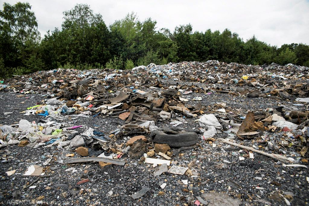 Wysypisko śmieci, zdj. ilustracyjne