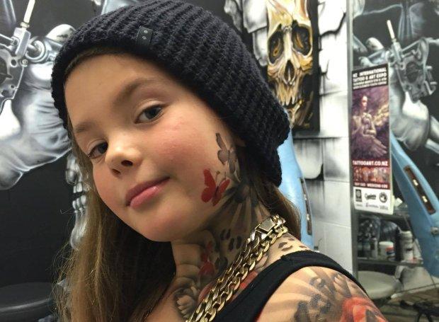 tatuaże dla dzieci