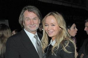Jan Kulczyk i Joanna Przetakiewicz