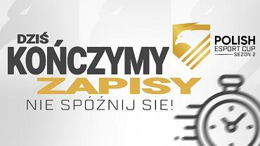 Dzisiaj koniec zapisów do turniejów CS:GO i VALORANT w drugiej turze Polish Esport Cup 2020!