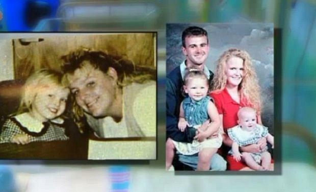 Od lewej: Paula razem z Callie. Na zdjęciu obok Kevin, Whitney i z malutką Rebecą