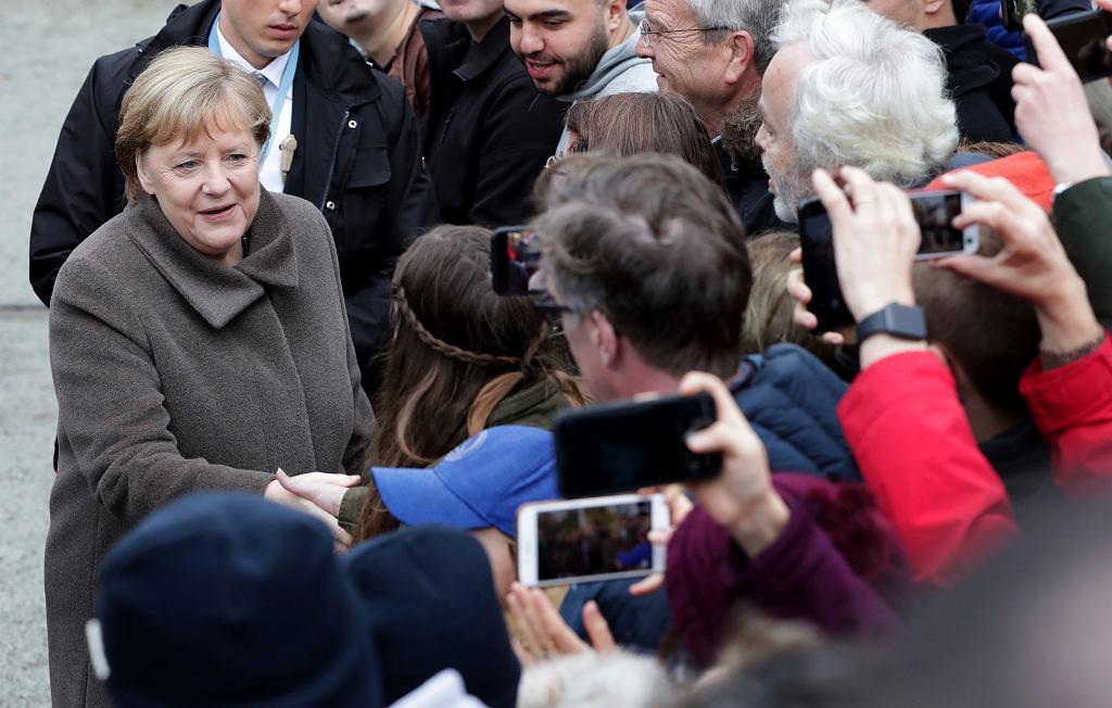 Niemcy. Kanclerz Angela Merkel.