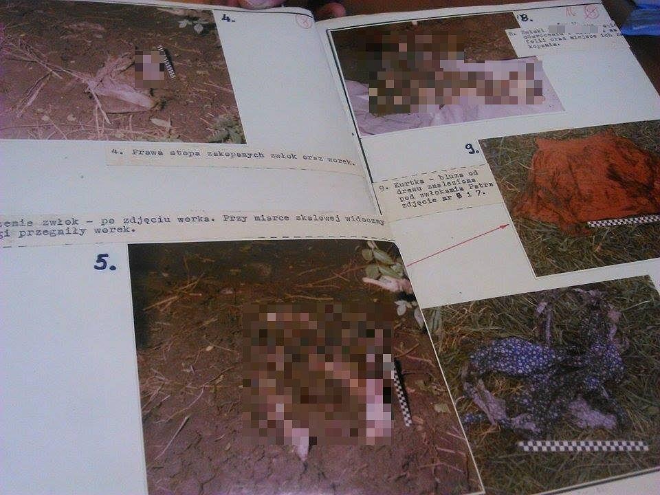 Zwłoki odnaleziono w zaroślach niedaleko domu ofiary.