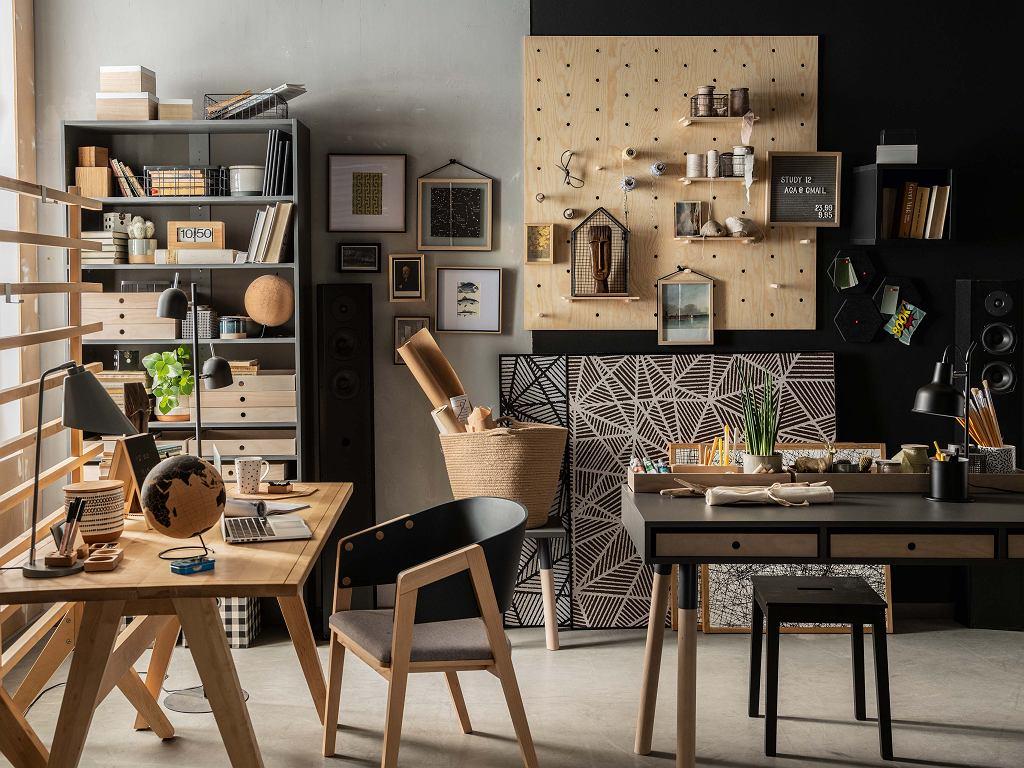 Organizacja przestrzeni wokół biurka