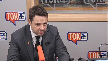 Rafał Trzaskowski w studiu TOK FM.