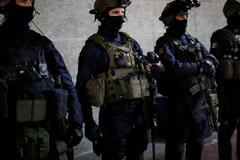 Francuscy antyterroryści (National Gendarmerie Intervention Group GIGN)